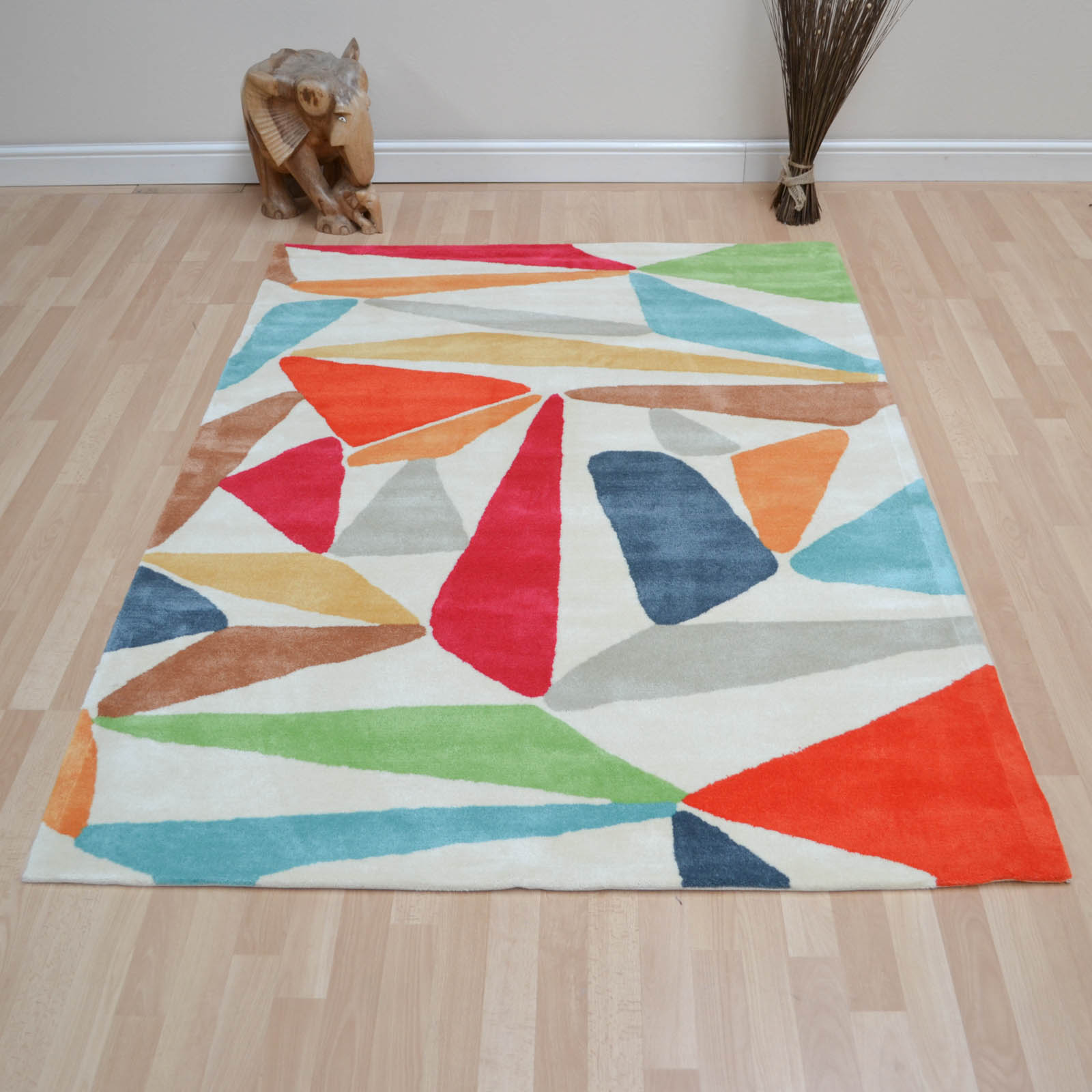 Xian Triangle Rugs 77600 by Brink and Campman