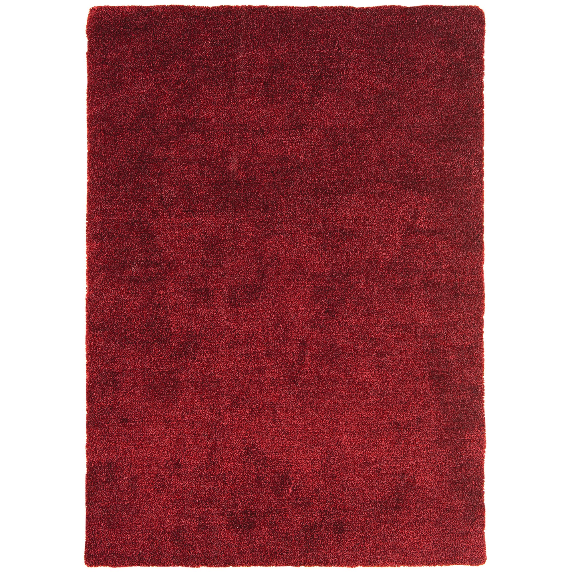 Tula Plain Rugs in Red