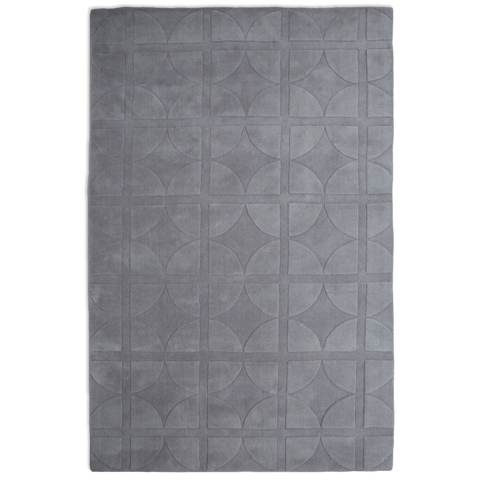 Universal Rugs UNI02 in Light Grey