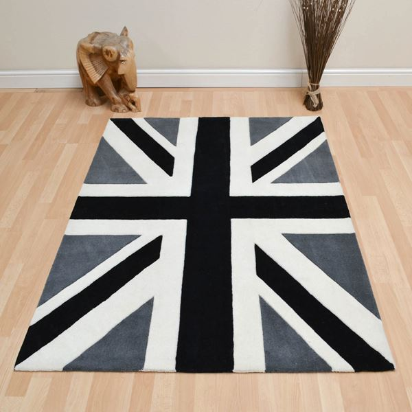 Union Jack - Black Grey