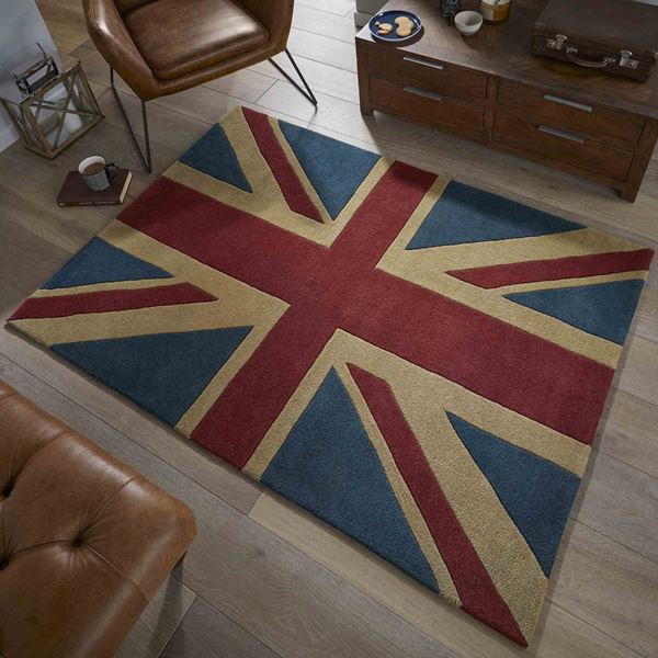 Union Jack - Red Blue