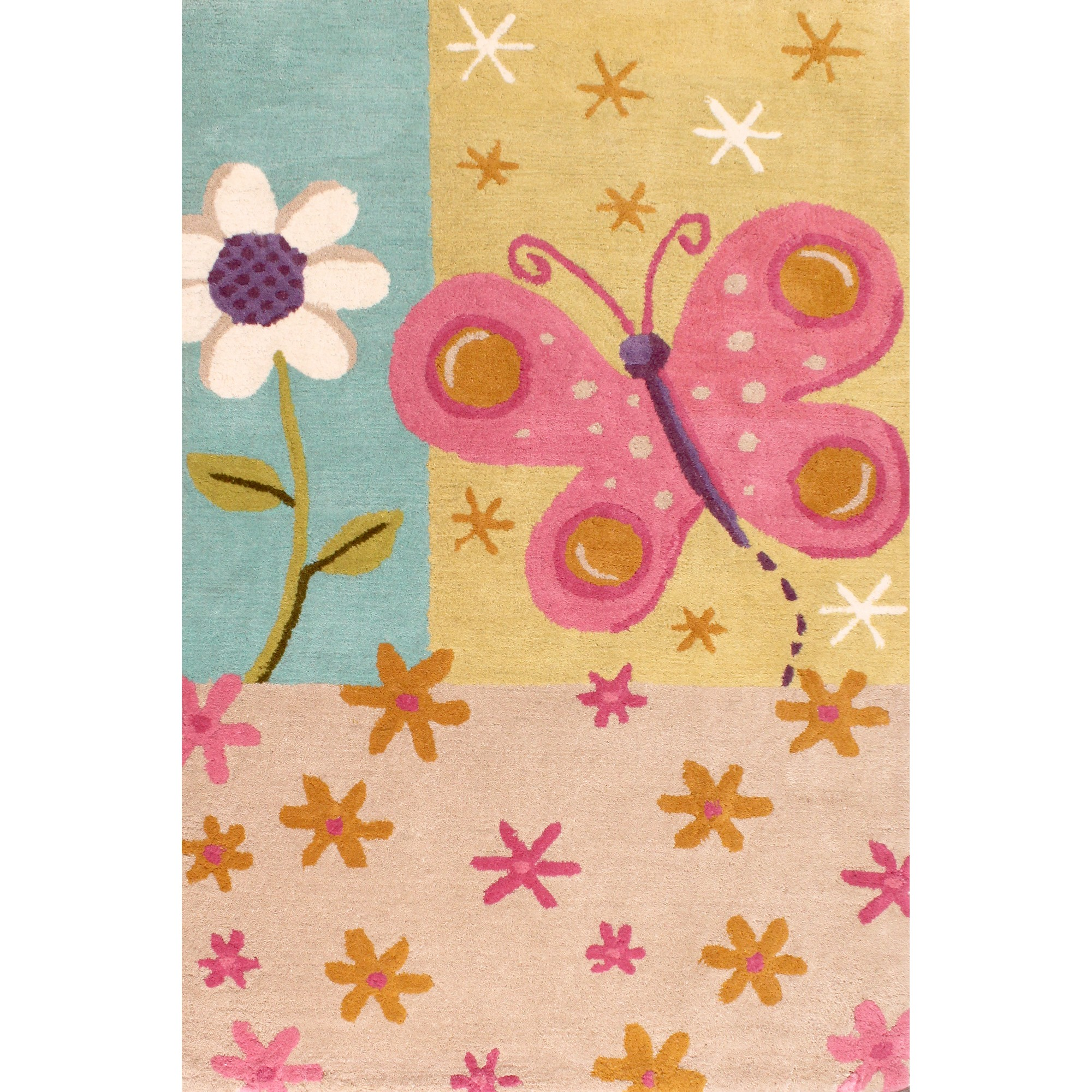 Kids Unique Butterfly Rugs Free Uk Delivery The Rug Seller