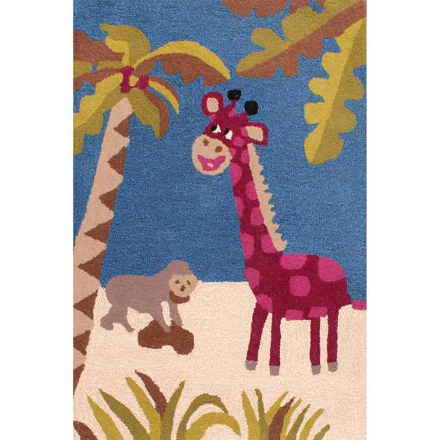 Kids Unique Zoo Rugs