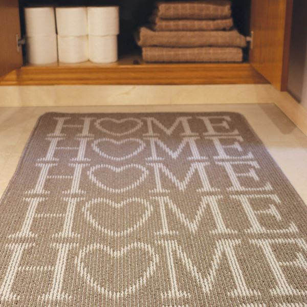 Home Utility Mat - Stone