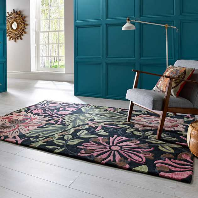 V&A Honeysuckle rugs by Luxmi