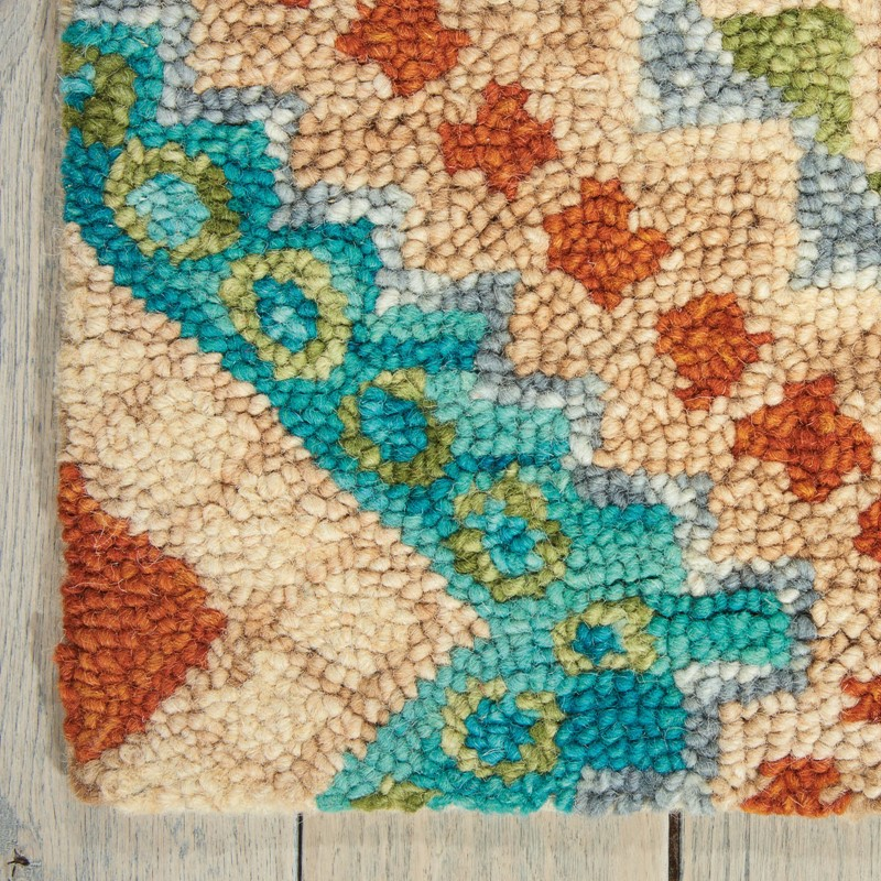 Vibrant Rugs In Ivory Vib06 By Nourison Buy Online From