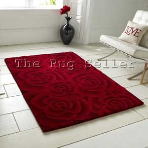 Valentine rugs vl10 hand made indian wool in red free uk for 100 floors valentines floor 5