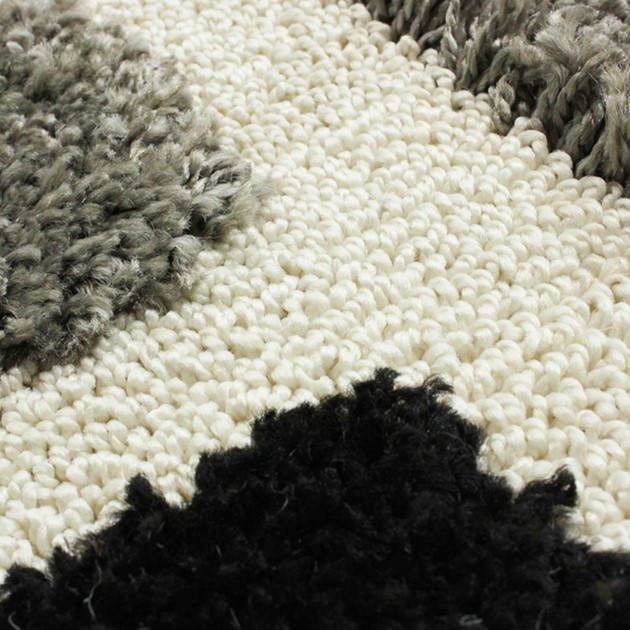 Venice Imperial Rugs In Grey And Black Free Uk Delivery