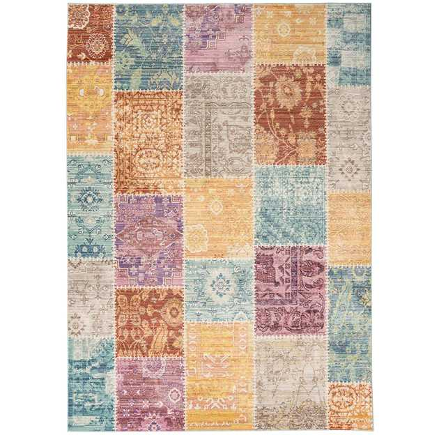 Verve Multi-Coloured Rugs VE05