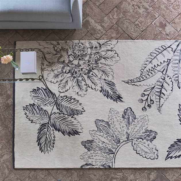 Victorine Zinc Rugs by Designers Guild