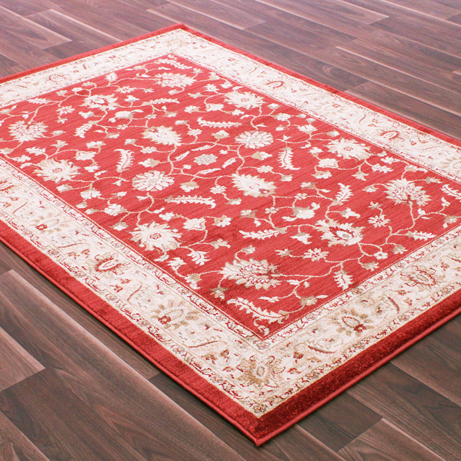 Vintage Traditional Rugs 7982 in Red