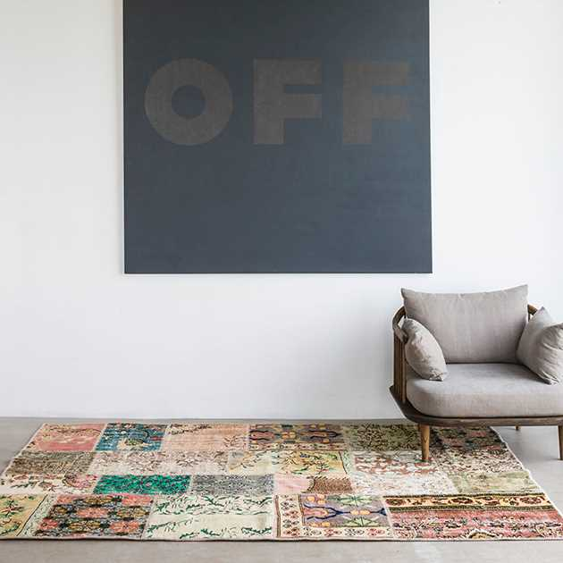 Vintage Rugs in Natural Light by Massimo