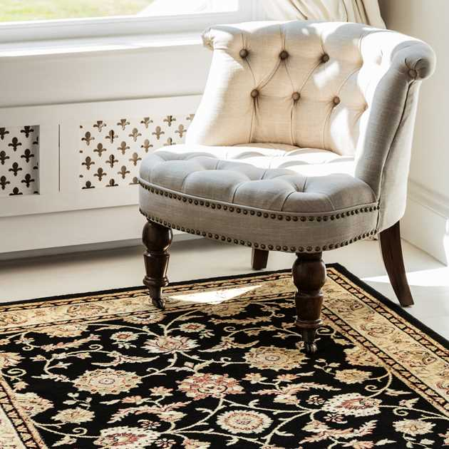 Viscount Rugs V51 65115 090 Black