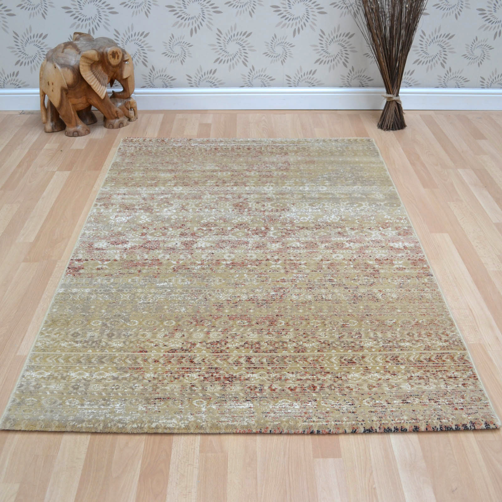 Viscount Rugs V64 65409 190 Cream
