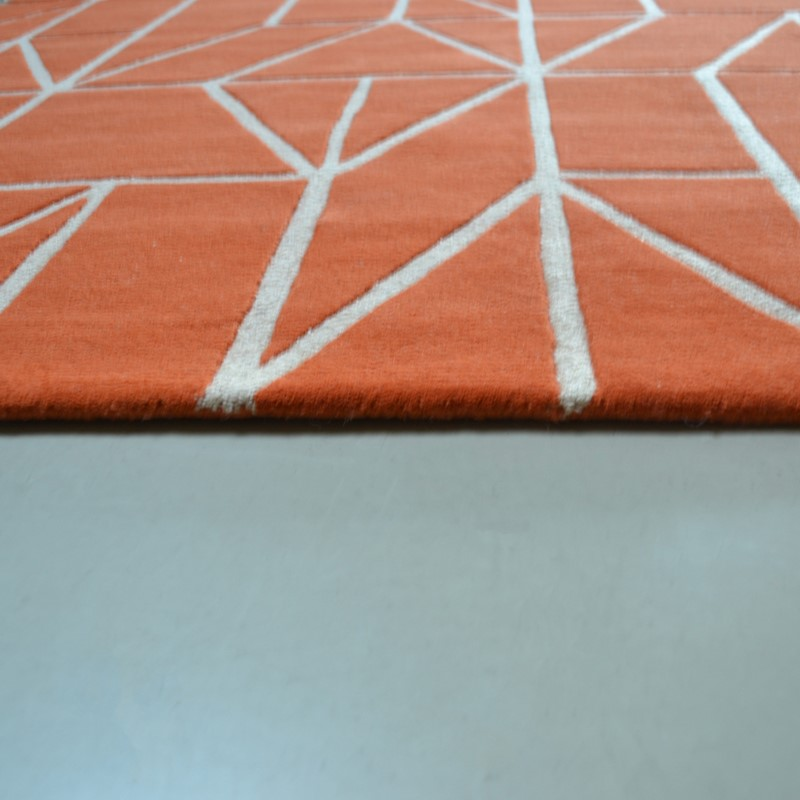 Scion Viso Rugs 24003 Paprika Buy Online From The Rug