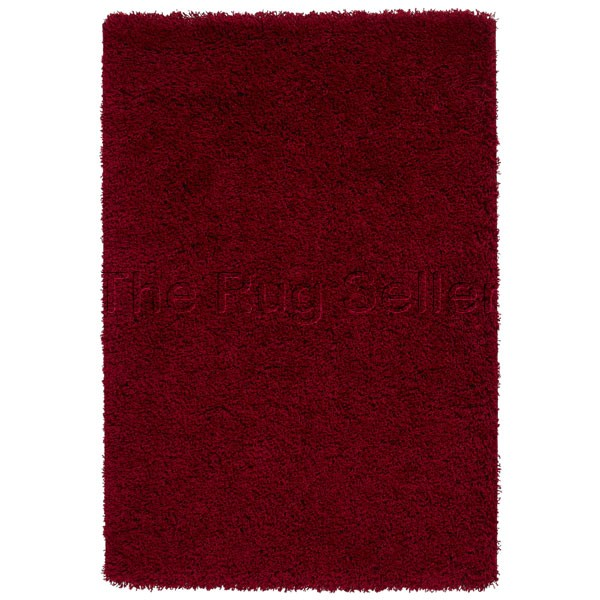 Vista Shaggy Rugs 2236 Red Buy Online From The Rug Seller Uk