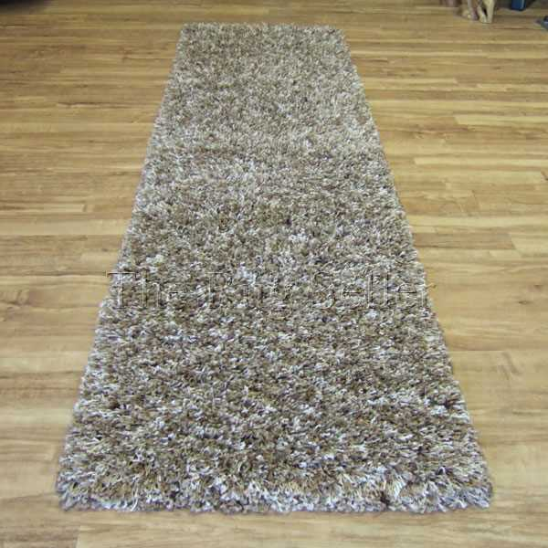 Vista Shaggy Hallway Runners 3547 Beige Cream