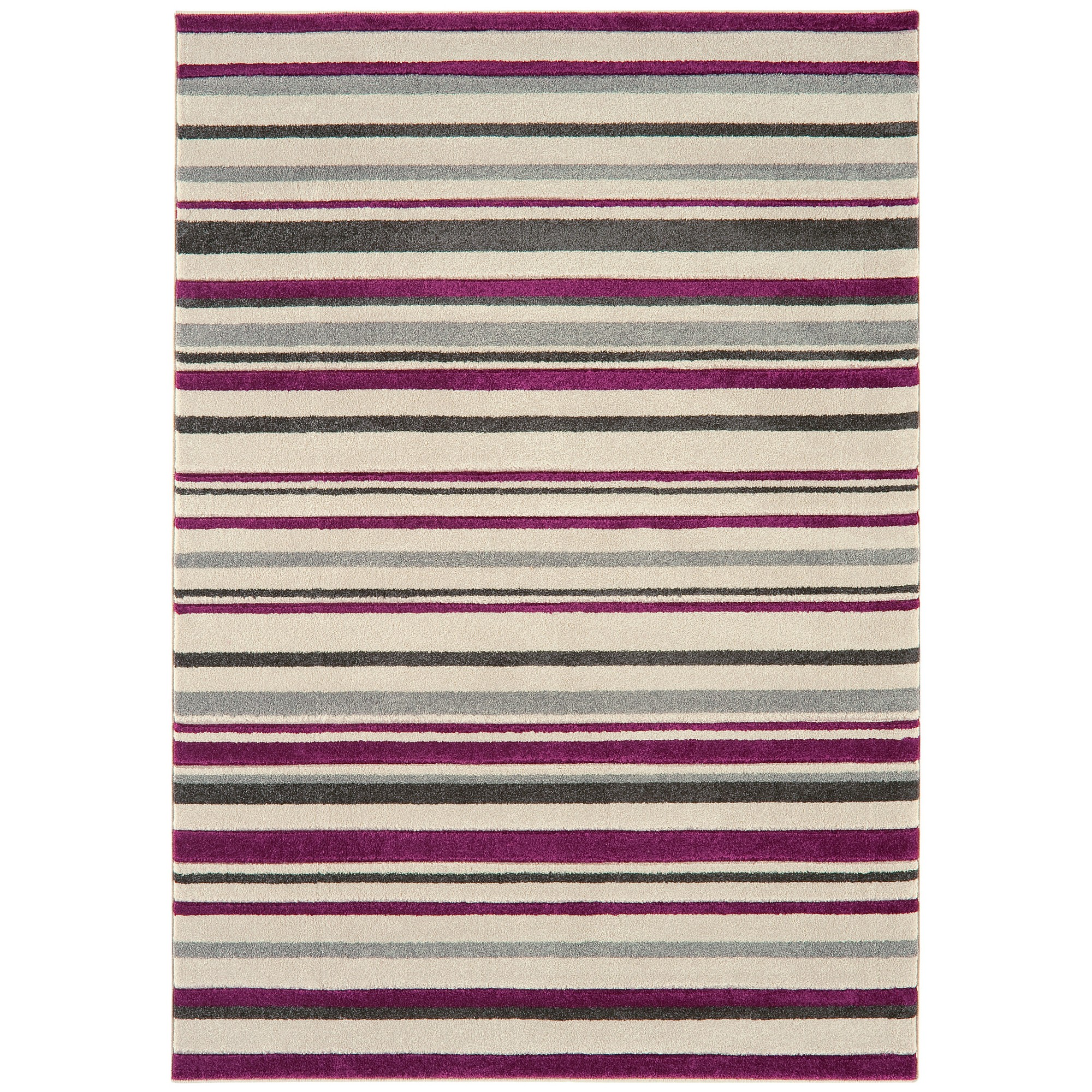Vogue Stripes Rugs VG21 in Beige and Purple