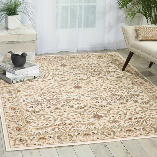 Walden Rugs WAL03 in Ivory