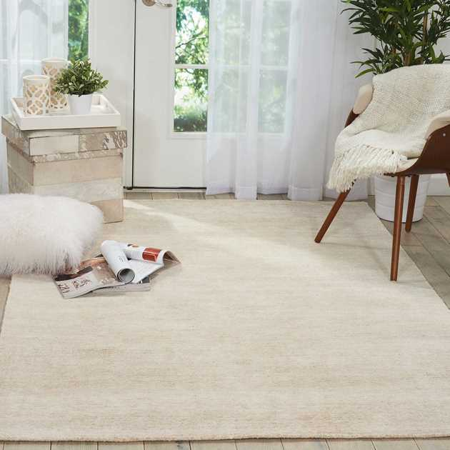Weston Rugs WES01 by Nourison in Linen