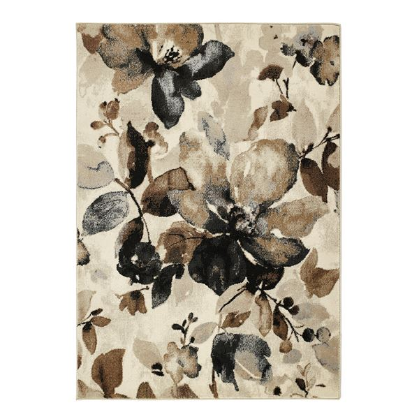 Watercolour Floral - Beige