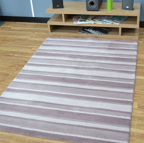 Windsor Stripe - Dusky Pink