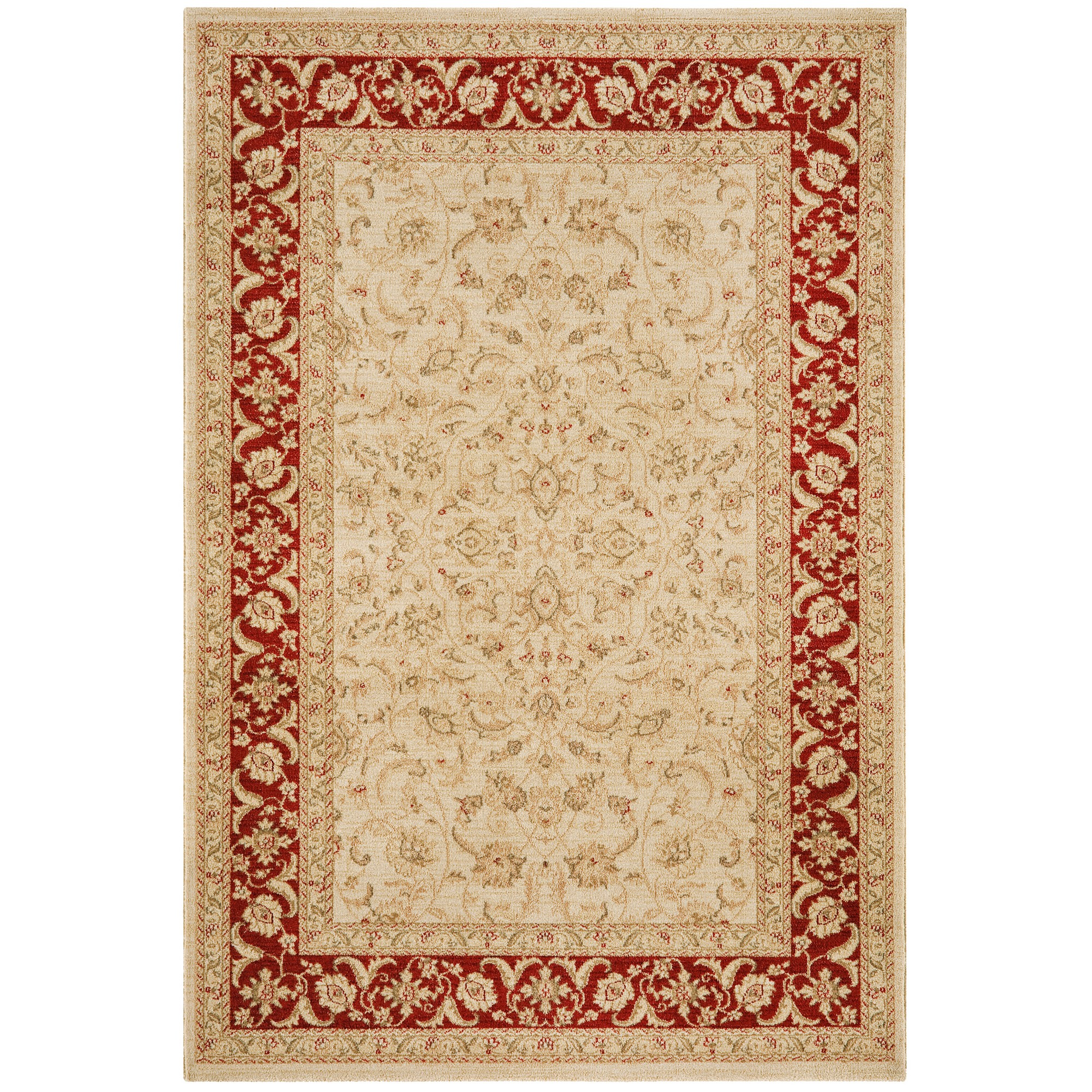 Windsor Rugs WIN01 Cream Rust