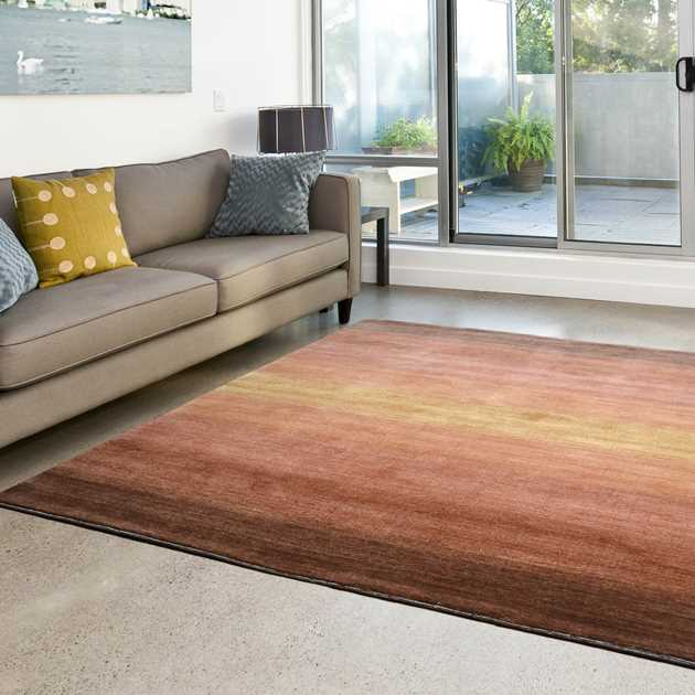Winslow Gradient Rugs in Rust