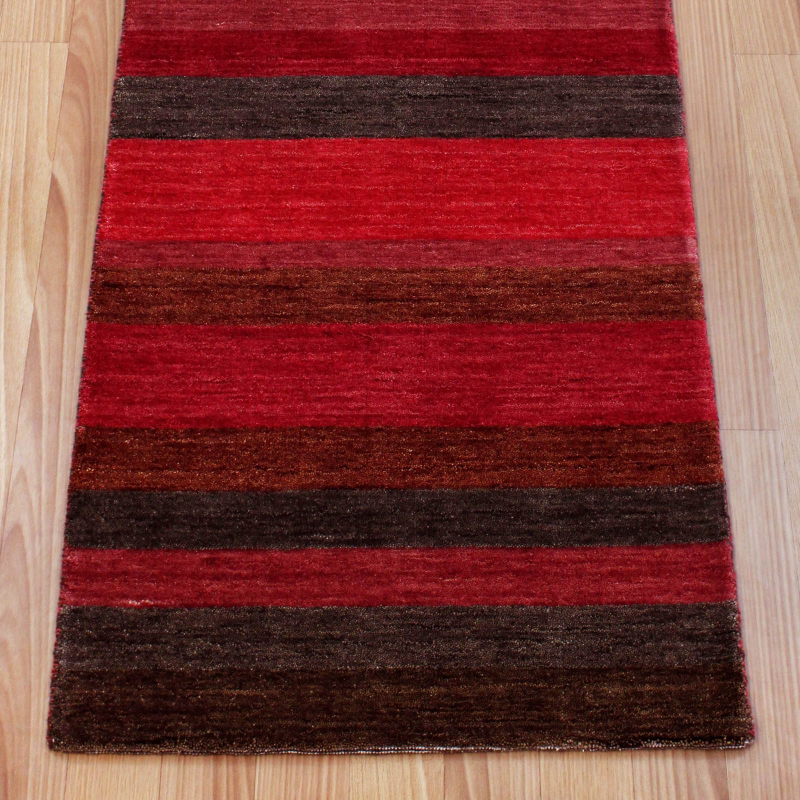 Winslow Hallway Runners in Stripe Red