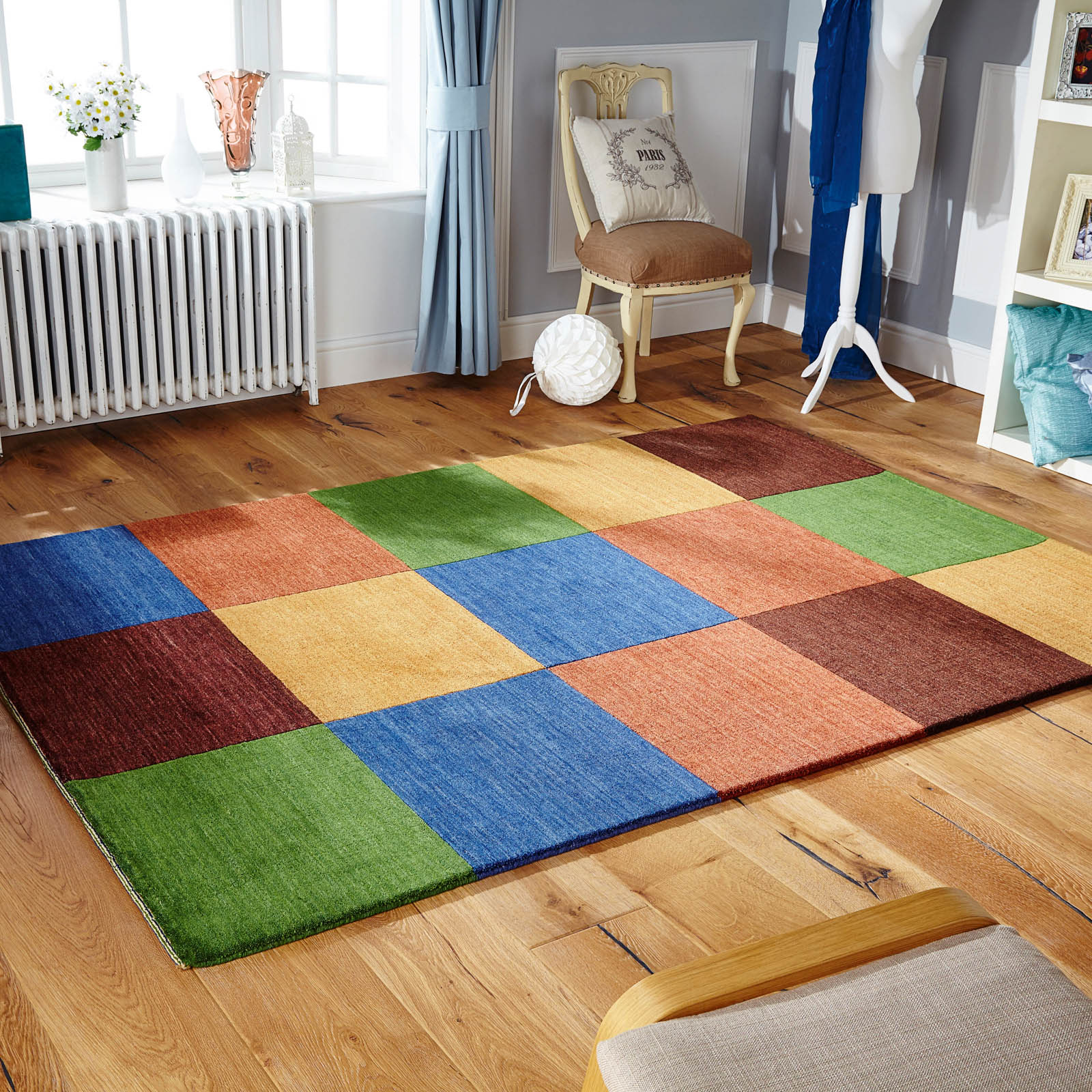 Winslow Rugs in Cube Multi