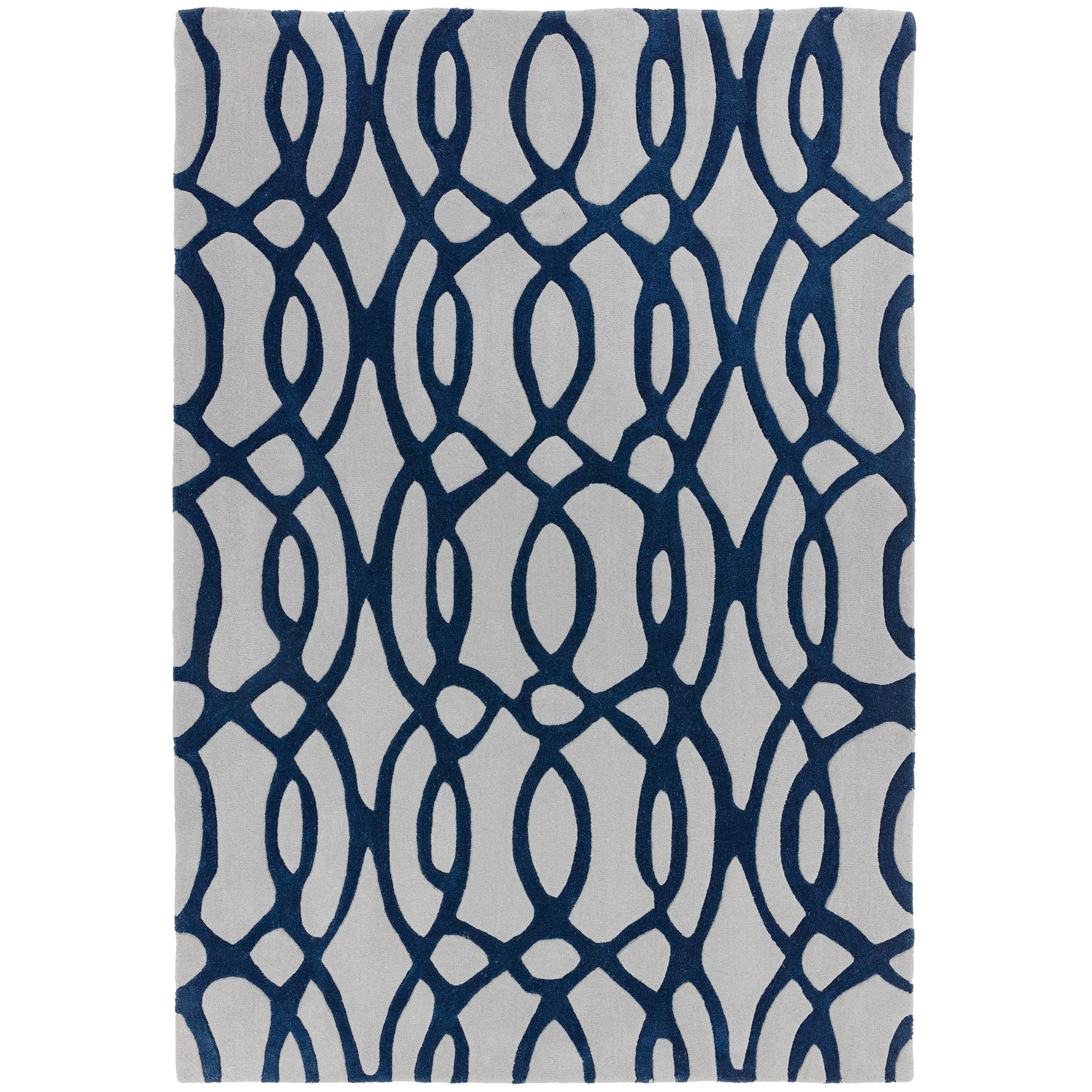 Matrix Wire Rugs MAX36 Blue