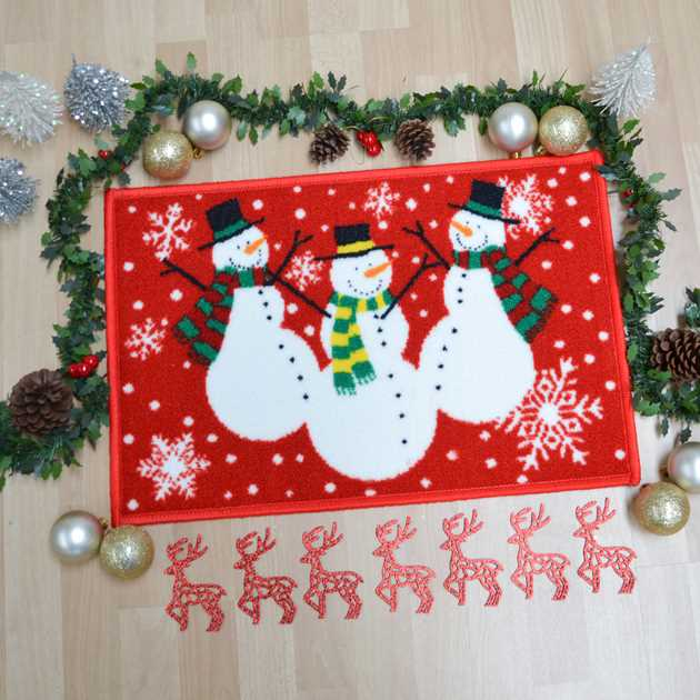 Snowman Christmas Rugs