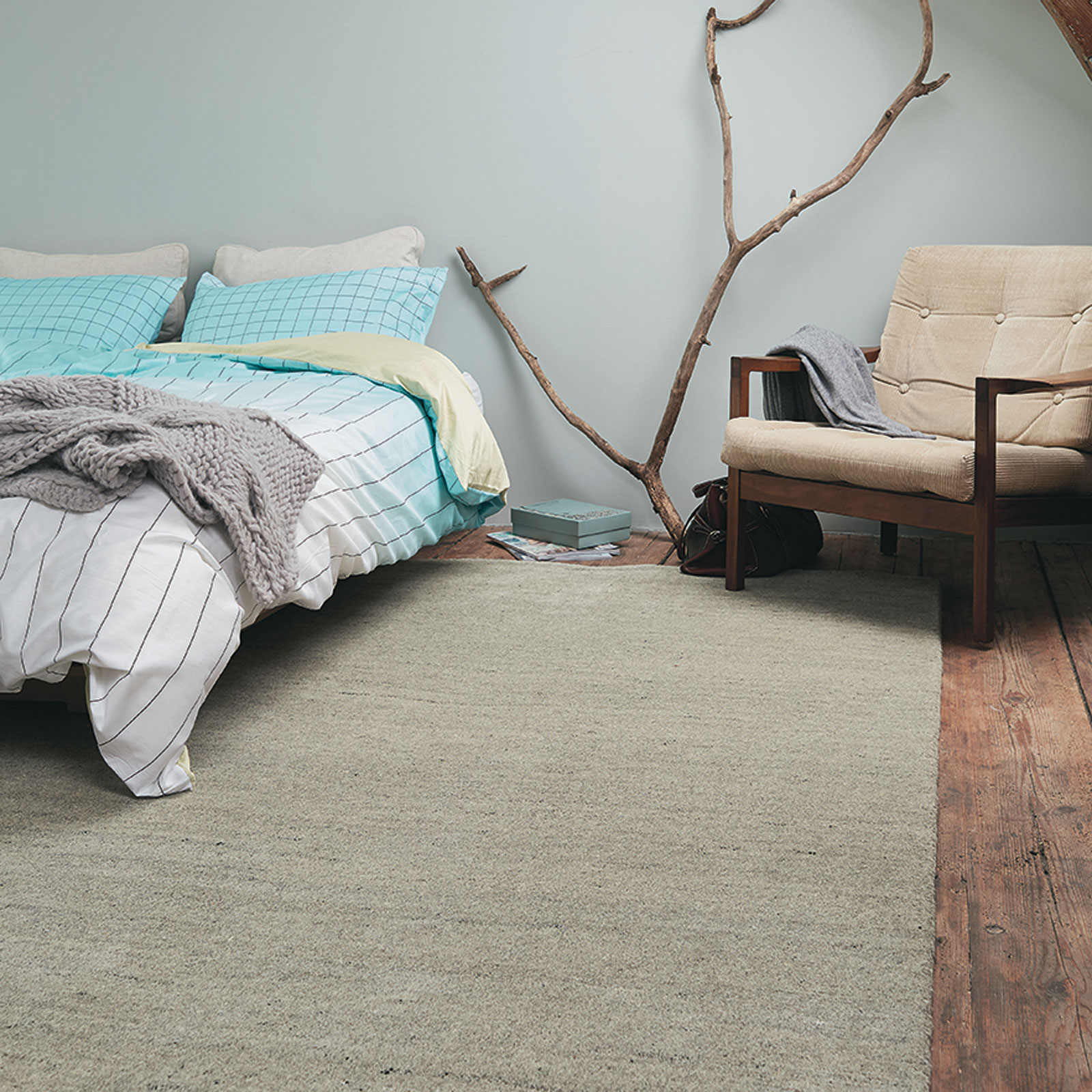 Yeti Rugs 51004 by Brink and Campman in Chalk