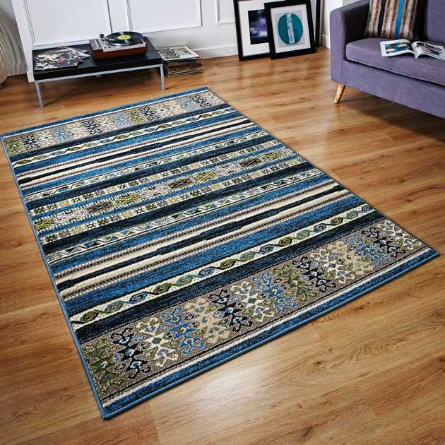Zante Rugs 5501B in Blue