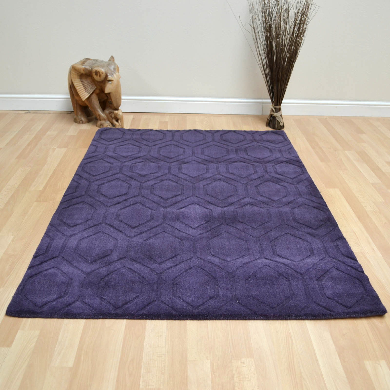 Zante Rugs in Purple