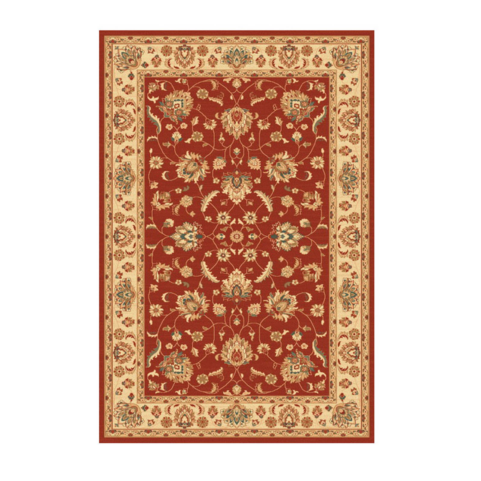 Woburn Ziegler Rugs in Red Ivory